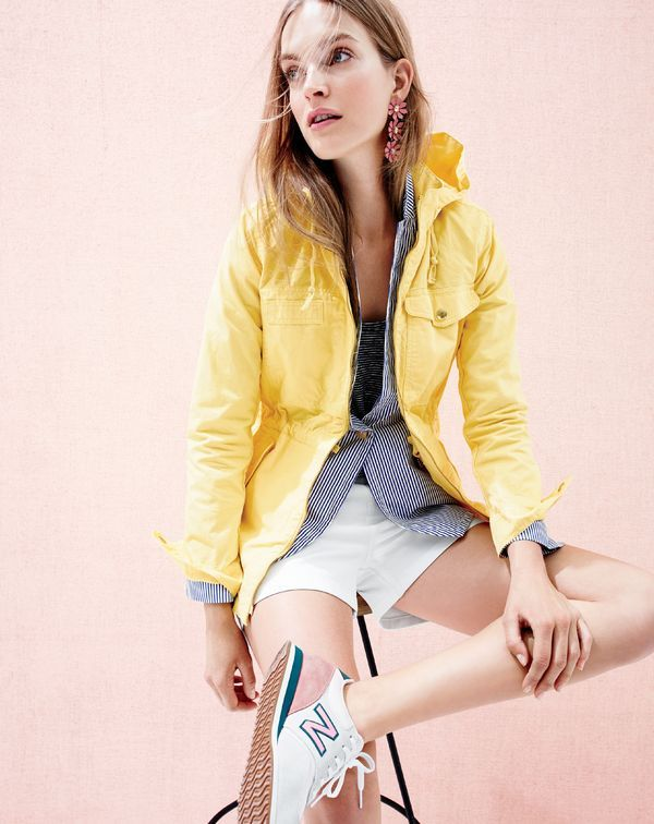 Grab your...car keys, bike helmet, roller skates, jet pack, whatever... J.Crew new arrivals are in stores now.