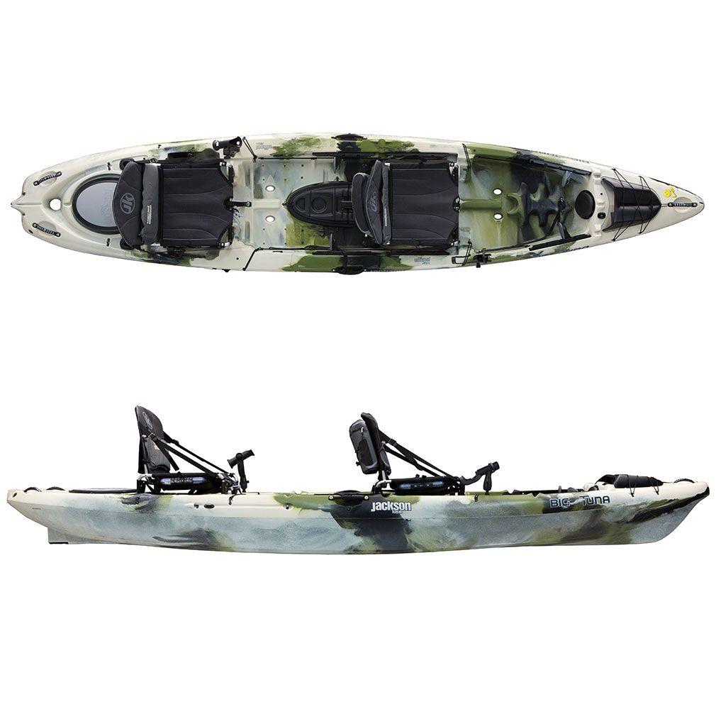 Jackson Kayak Big Tuna Two Person Fishing Kayak