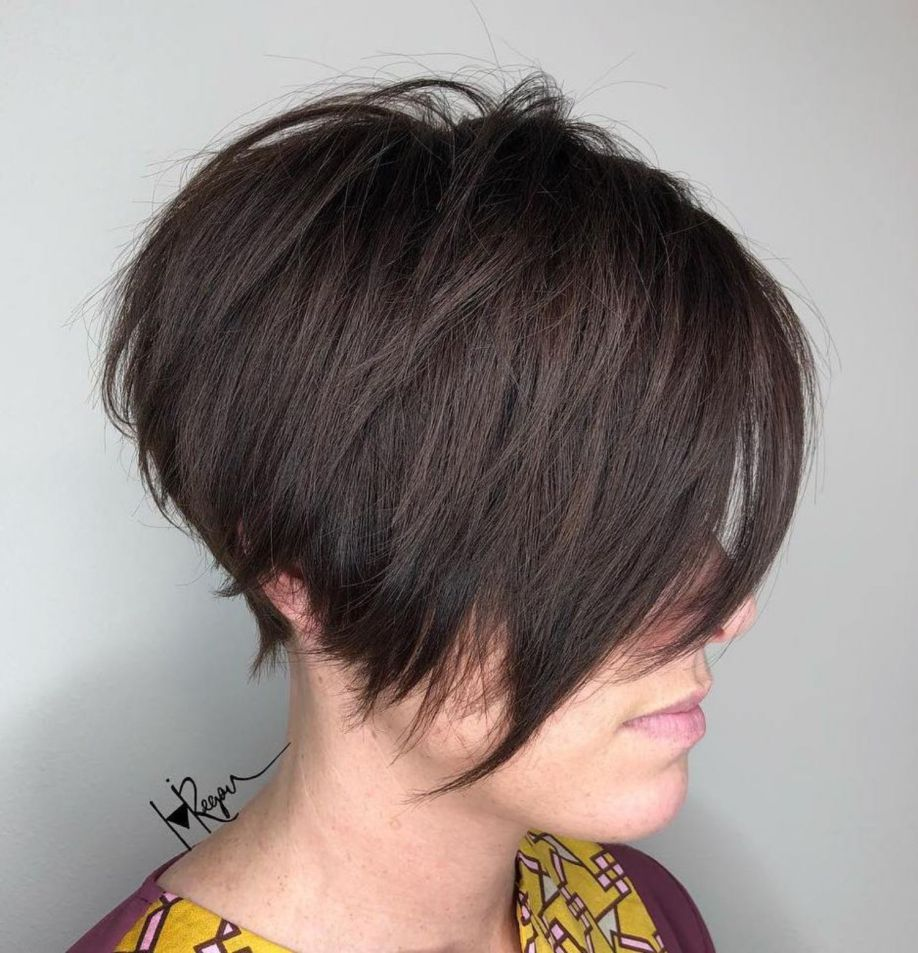 60 Short Shag Hairstyles That You Simply Can T Miss Short Shag Hairstyles Short Hair With Layers Shag Hairstyles