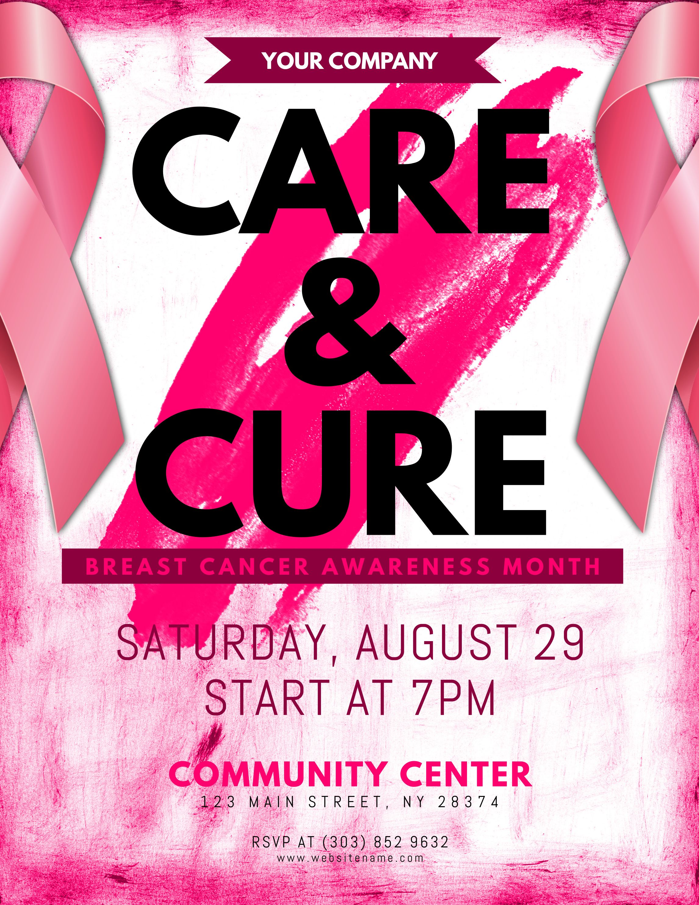 breast cancer awareness month flyer   Breast Cancer Awareness ...
