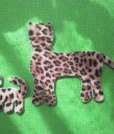 Photo of Ich habe diese Jaguare aus bedrucktem Filz genäht – du