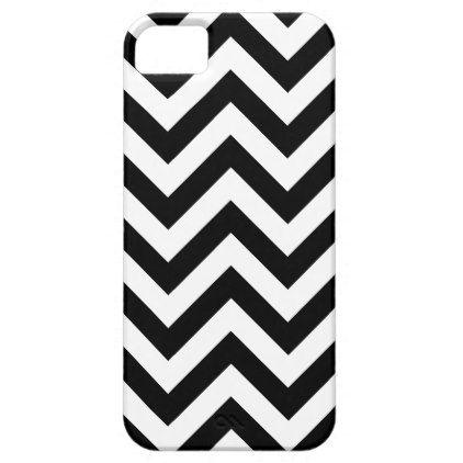 Black And White Chevron Pattern iPhone SE/5/5s Case - pattern sample ...