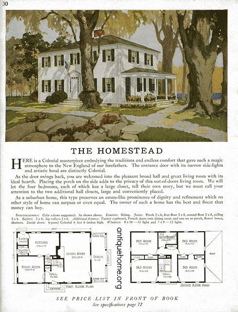 Do It Yourself Home Design: Sterling Kit House - The Homestead In 2019