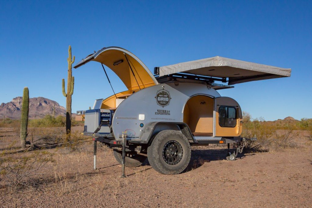 Off Road Teardrop Trailers Off The Grid Rentals Off