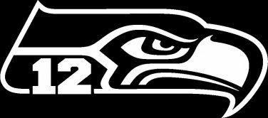 Seattle Seahawks Logo Black And White Google Search Seattle Seahawks Football Logo Seattle Seahawks Football Seattle Seahawks
