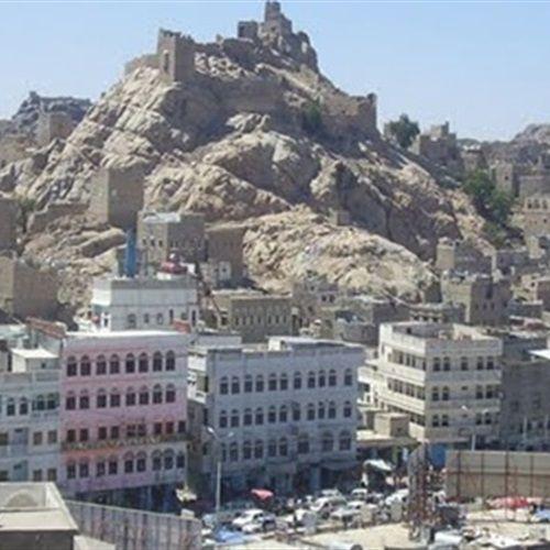 اليمن بالاسم استشهاد أحد رجال المقاومة في البيضاء Building Multi Story Building Structures