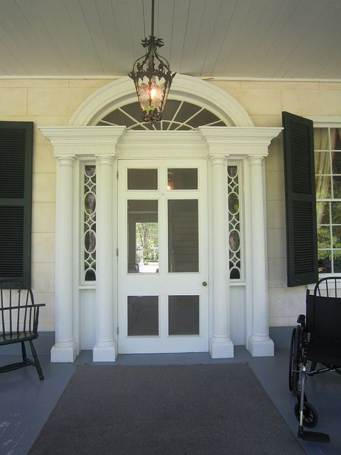 Linden in Natchez, MS; the front door of Tara in Gone with the Wind was modeled after this