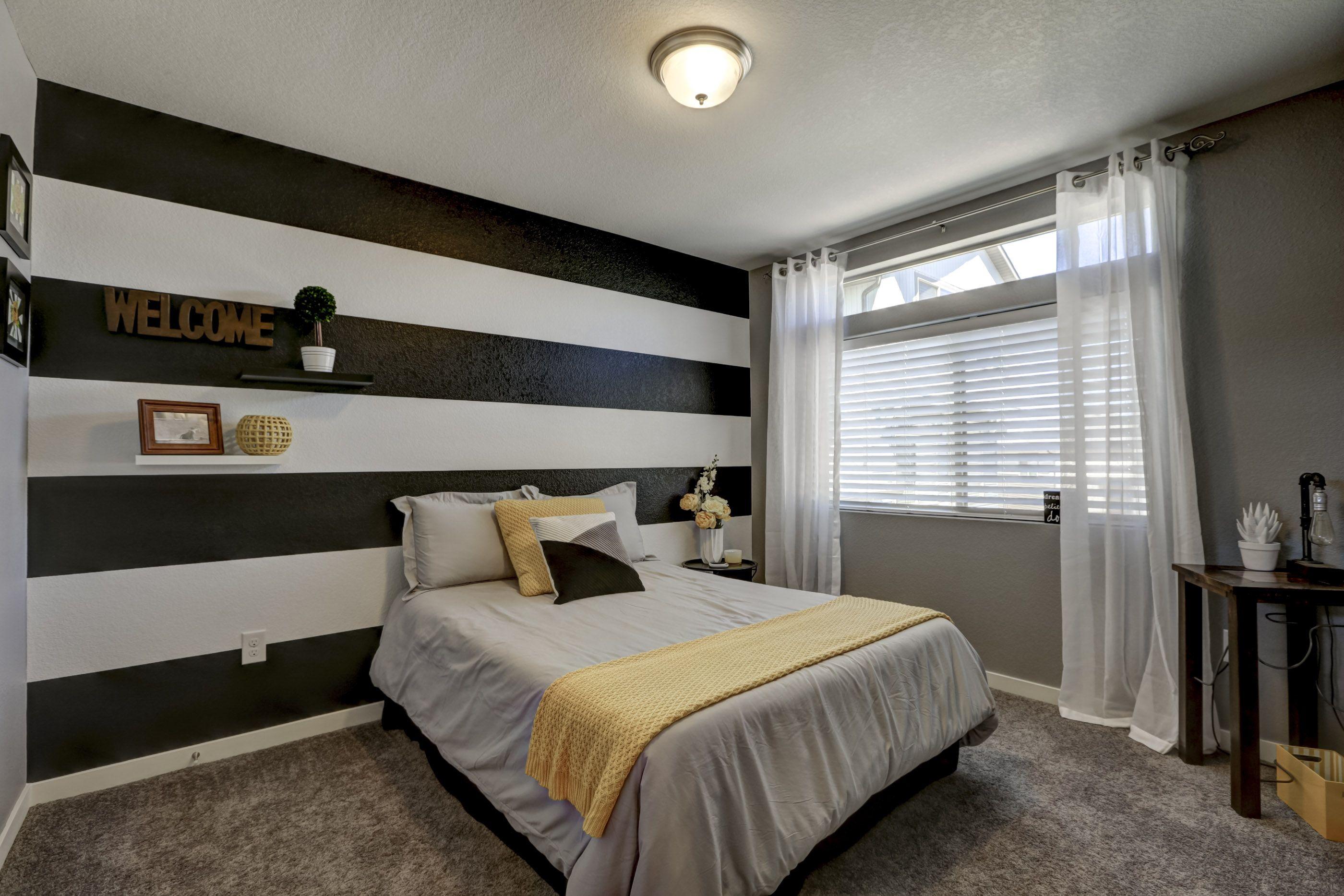 Bold Contemporary Guest Bedroom   Denver  CO. Bold Contemporary Guest Bedroom   Denver  CO   Bedroom Design