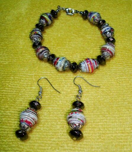 Paper bead set