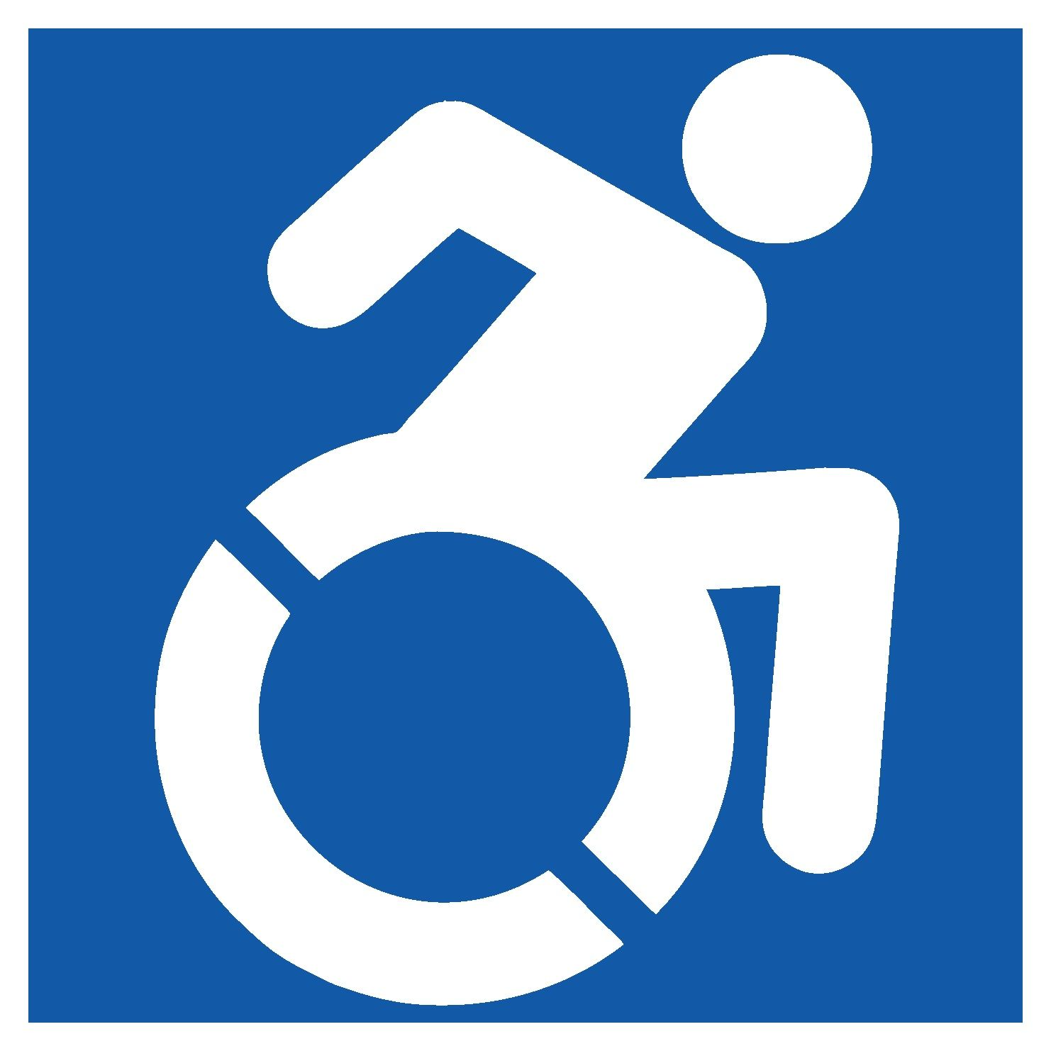 New Handicapped Sign Heads To Nyc Pinterest Icons