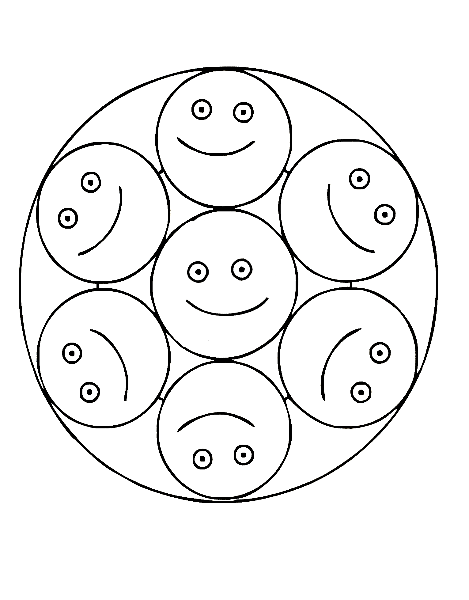 Mandala coloring pages for kindergarteners - Mandalas 01 Coloring Page For Kids And Adults From Cartoons Coloring Pages Mandalas Coloring Pages