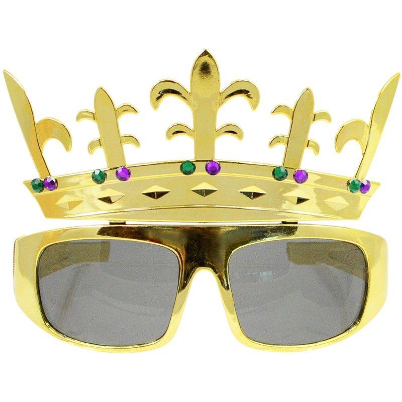 Fleur De Lis Crown Sunglasses Image