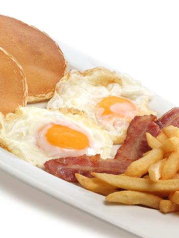 Desayuno Americano Del Vips