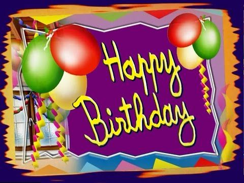 Youtube Funny Happy Birthday Song Birthday Songs Happy Birthday Song