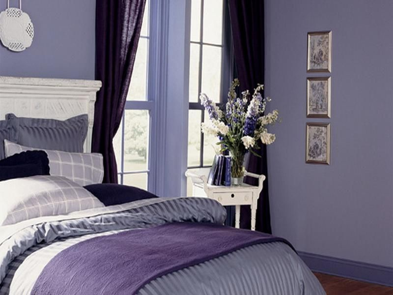 Bedroom Color Schemes Purple Houseroomdesign