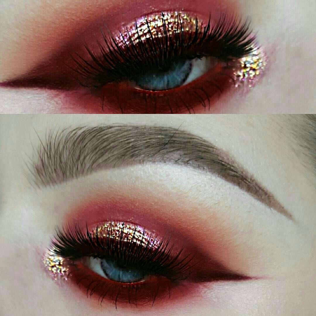 ριитєяєѕт IIIannaIII Artistry makeup, Red eyeshadow