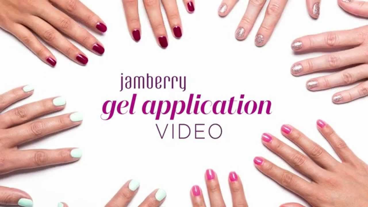 Jamberry TruShine Gel Application Video; visit my website ...