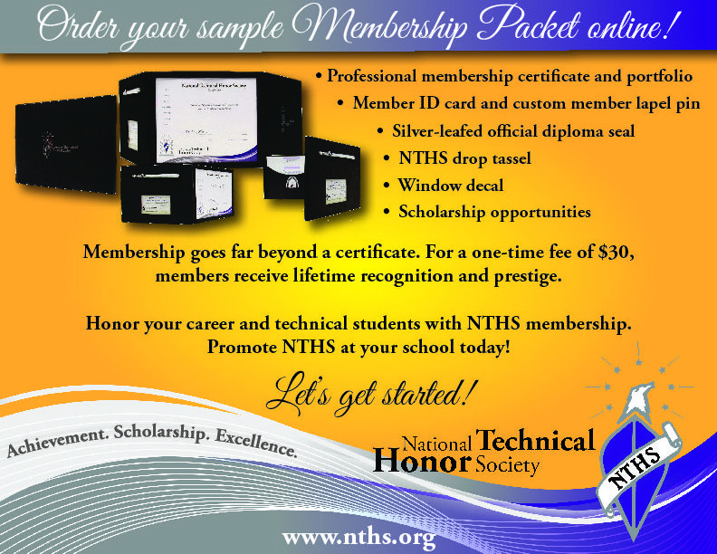 Order Your Sample Membership PacketJpg  Teaching And Learning