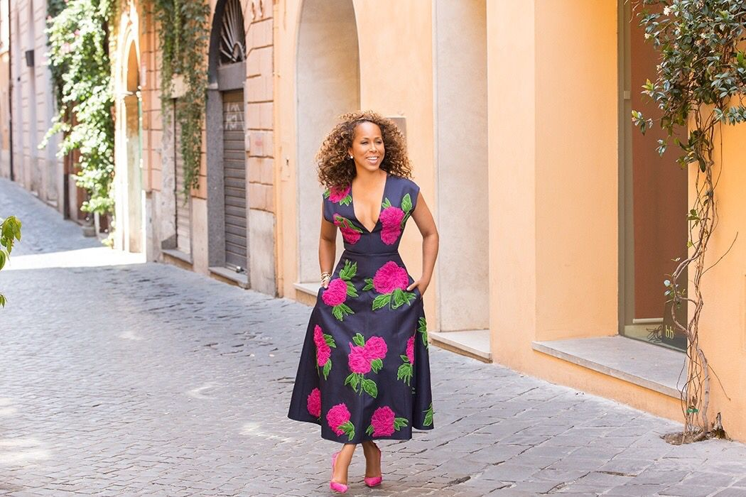Marjorie Harvey in Michael Kors
