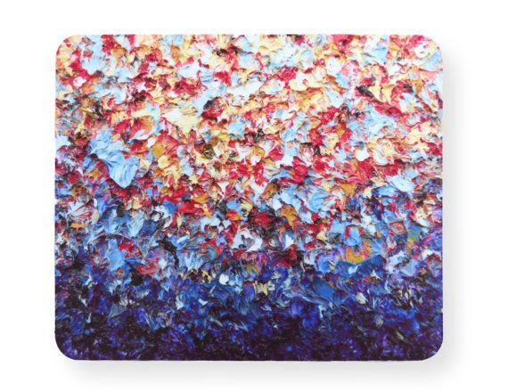 abstract art mouse pad, office supplies, inspirational office
