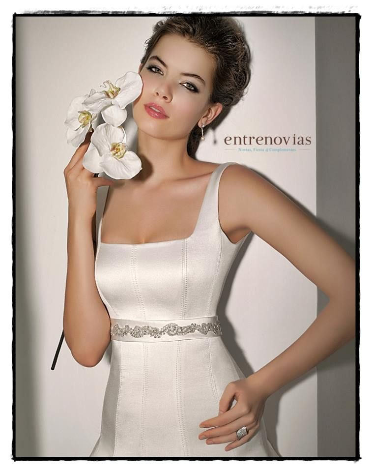 Vestidos de novia para mujeres cuadradas