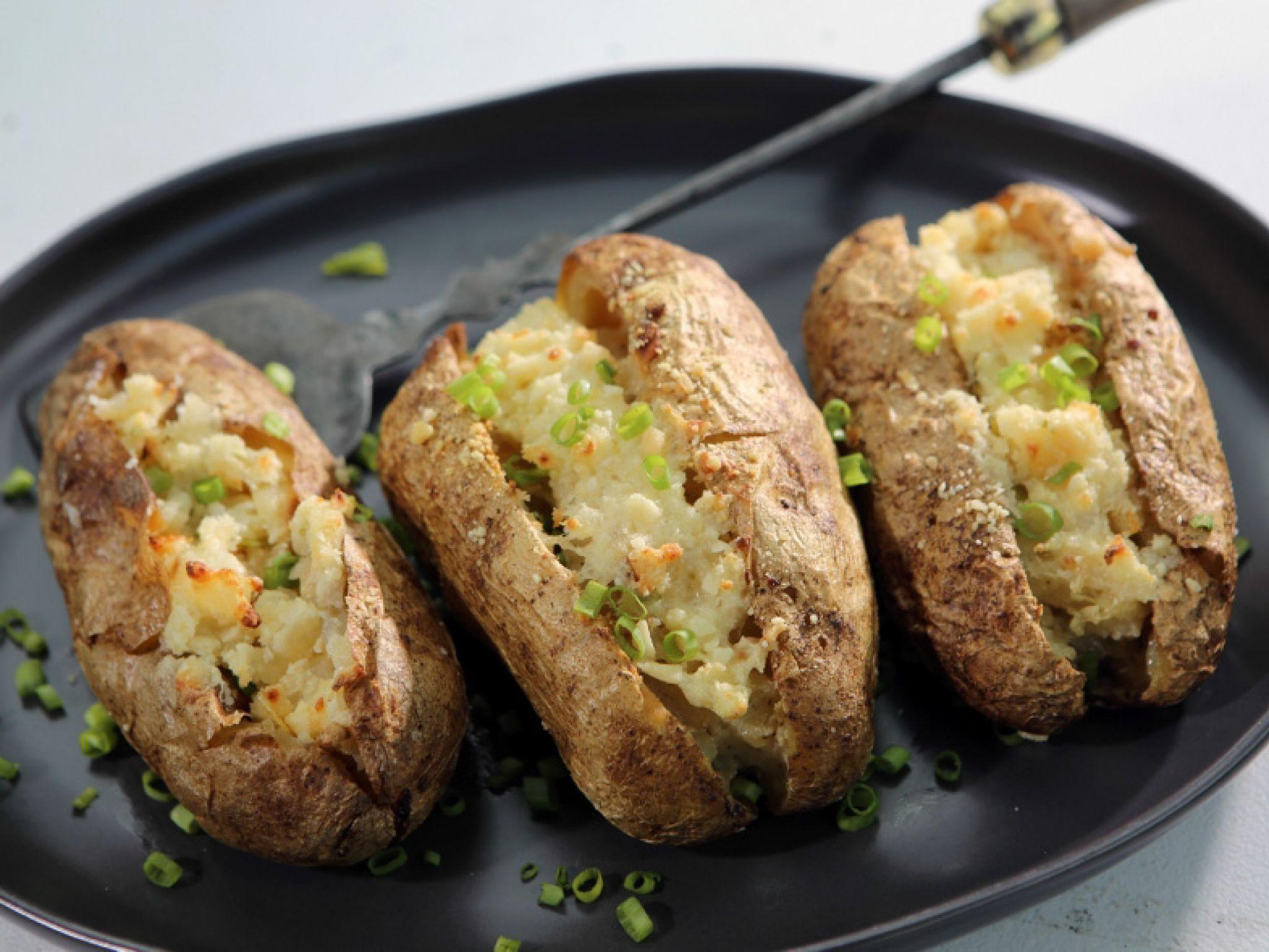 Twice Baked Potatoes Recipe Food network recipes