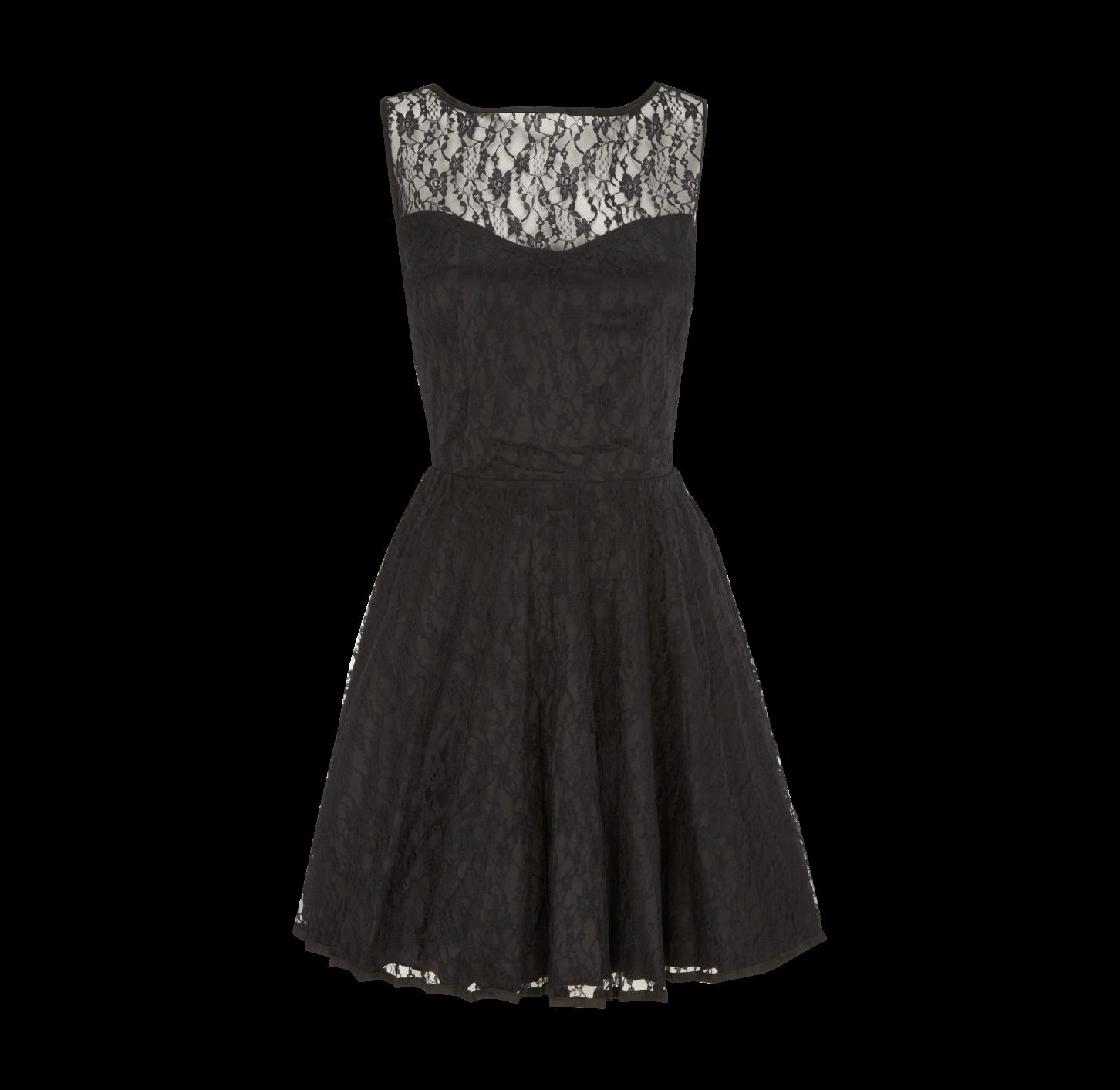 GLAMOROUS Kleid mit verstärktem Saum - Vorderansicht | Abschluss ...