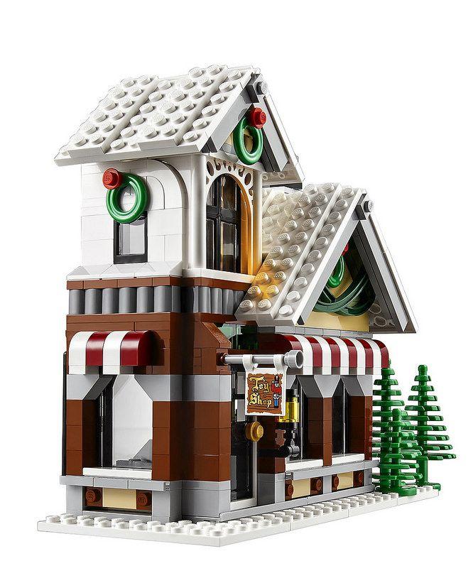 LEGO Creator 10249: Winter Toy Shop #LEGO #LEGOCreator #LEGOExpert #legonews #legochristmas #christmas #santaclaus #WinterVillage