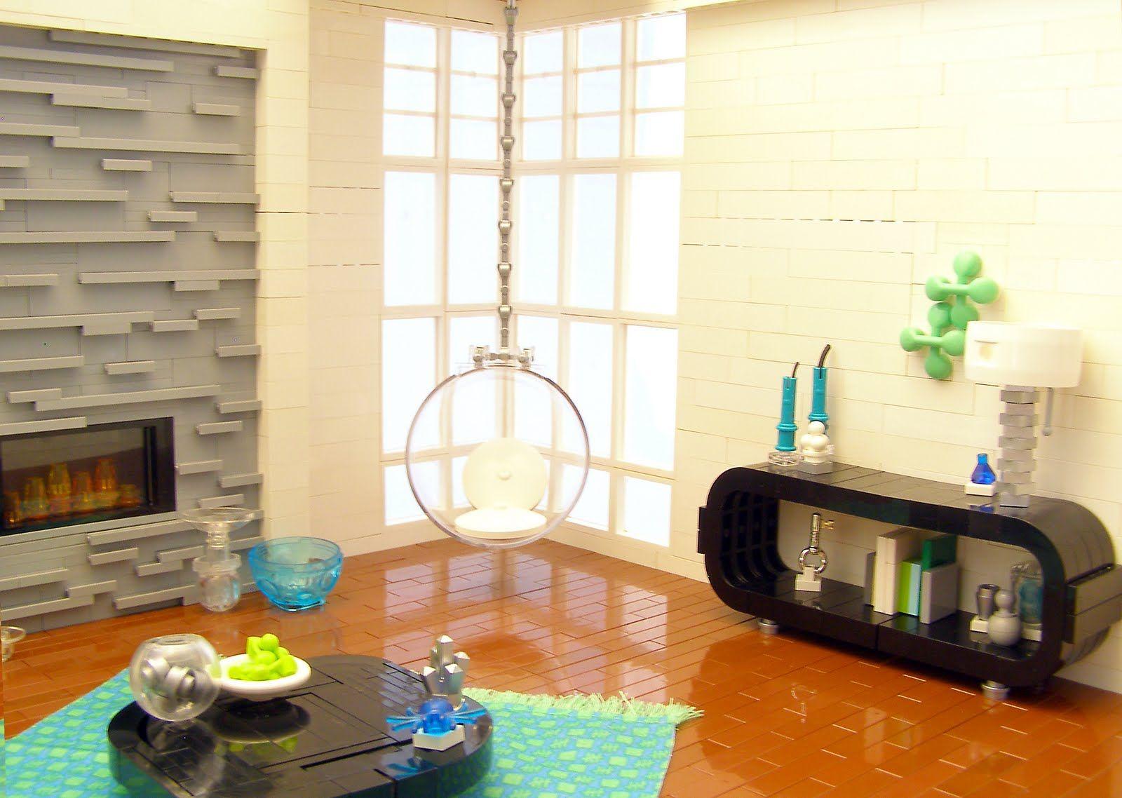 Stuff I Like: Lego Interior Design--Retro