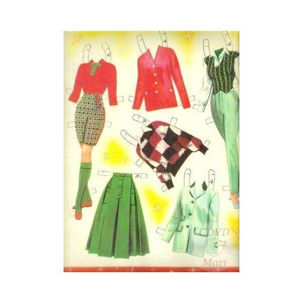 julie andrews paper dolls | Vintage Julie Andrews Uncut Reproduction Paper Dolls 1958