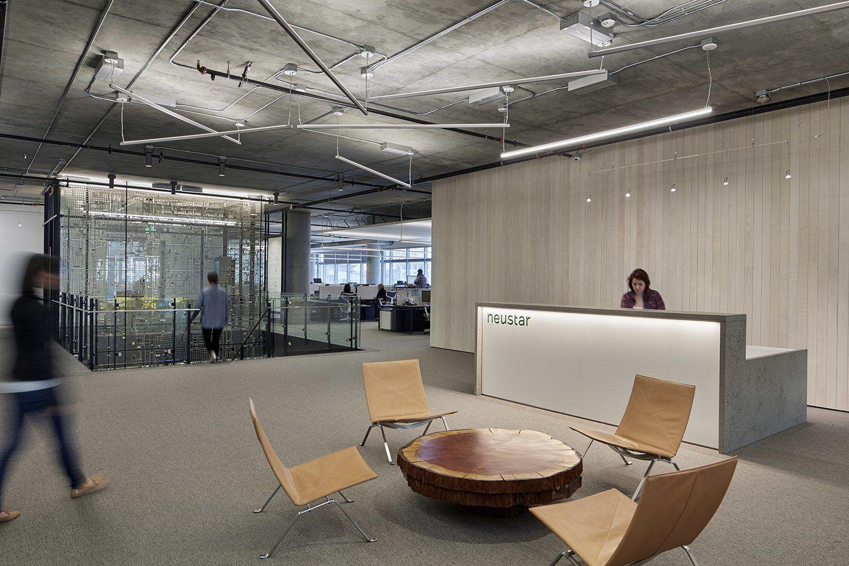 Check Out Photos Of Neustar S Elegant San Francisco Office Lobby
