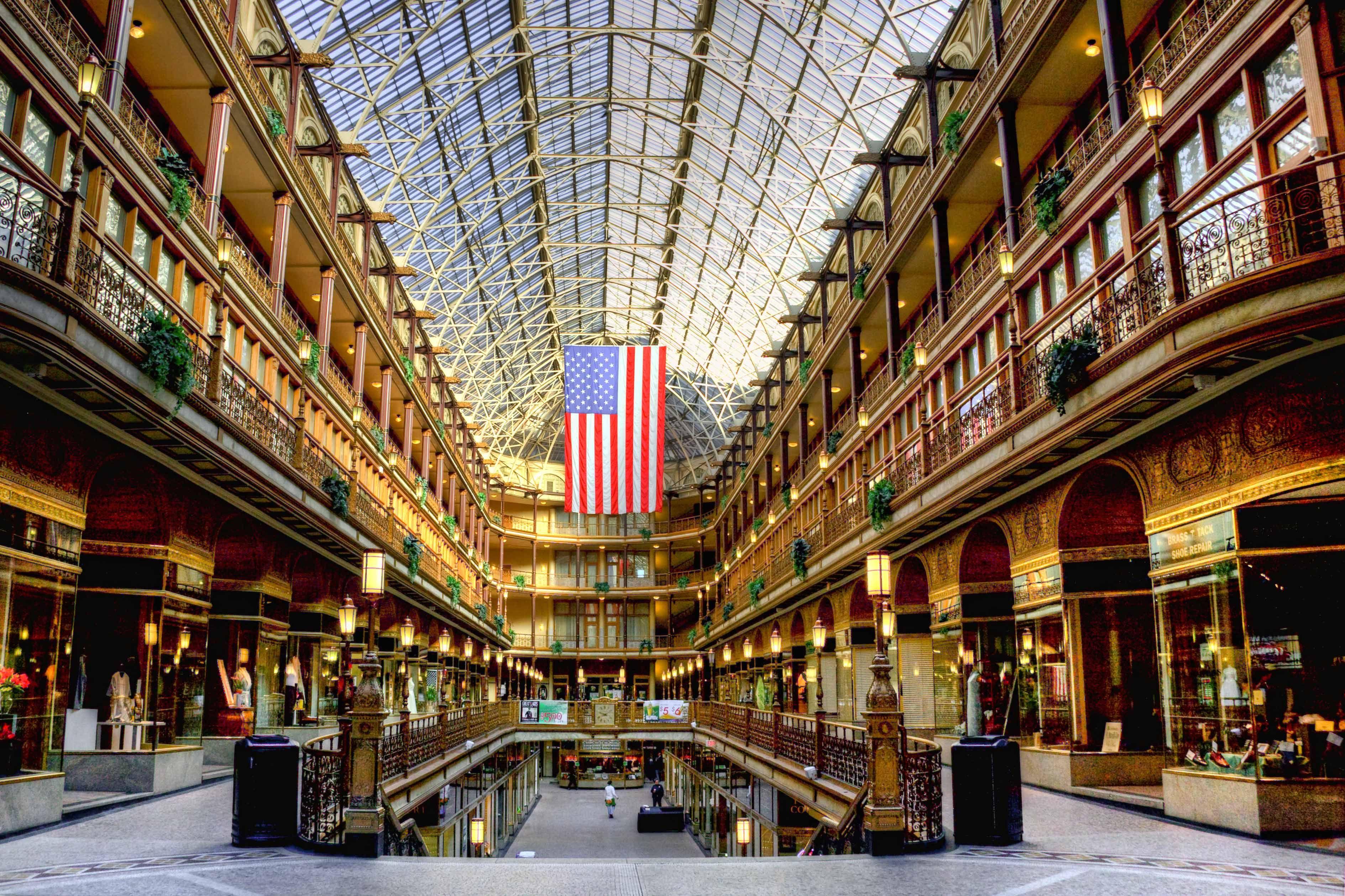The Old Arcade, Cleveland, Ohio Cleveland arcade, Arcade