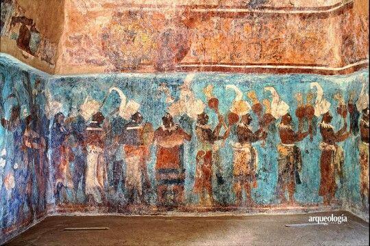 Bonampak Mural With Images Mesoamerican Architecture Maya Art
