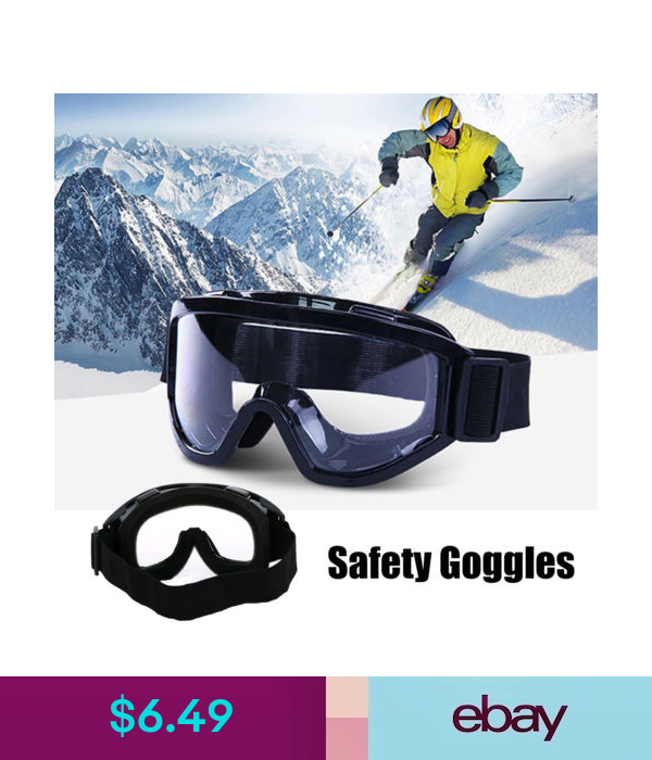 Safety, Protective Gear Protective Safety Goggles Sports
