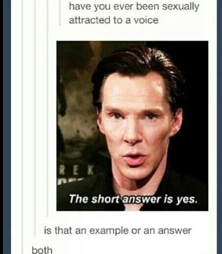 Both haha! #Sherlock
