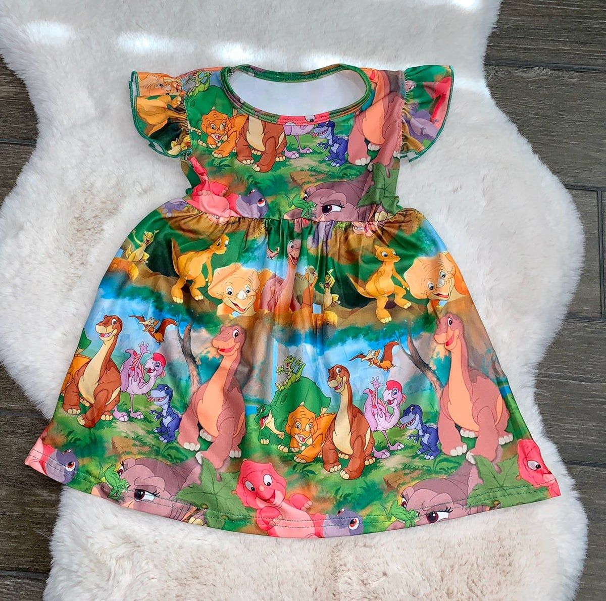 Pin By Maria Rodriguez On Adorable Dinosaur Dress 3t Dress Dresses 5t [ 1190 x 1200 Pixel ]