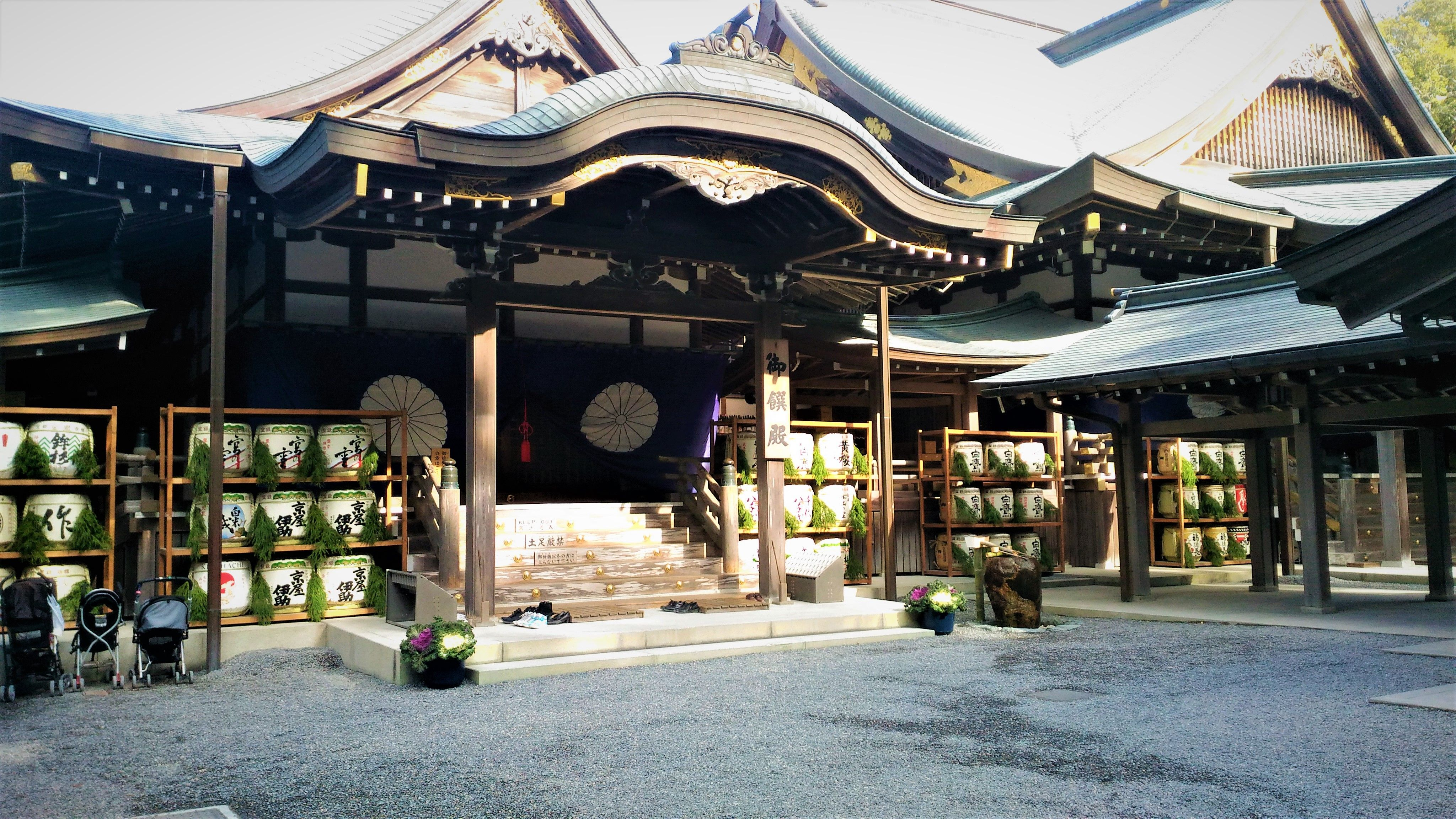 The Official Name Of The Ise Shrine Is Jingu Which Is Located In