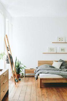 25 Totally Not Boring Minimalist Bedrooms #simplisticbedroom