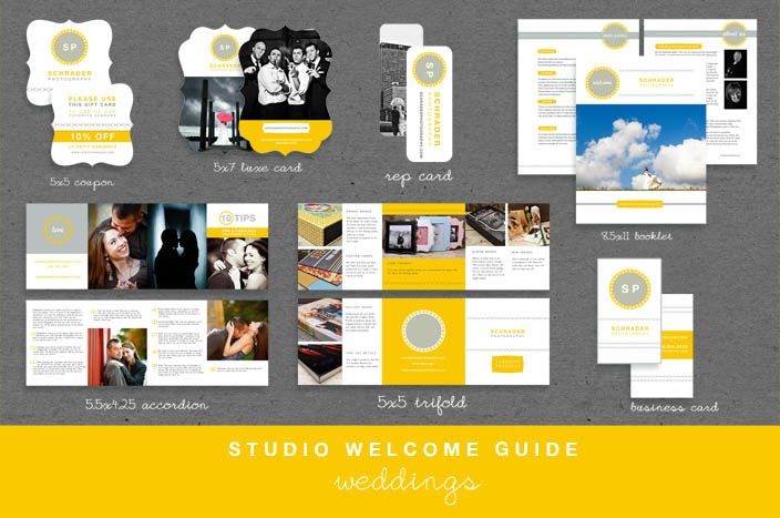 wedding photography welcome packet template - Google Search you