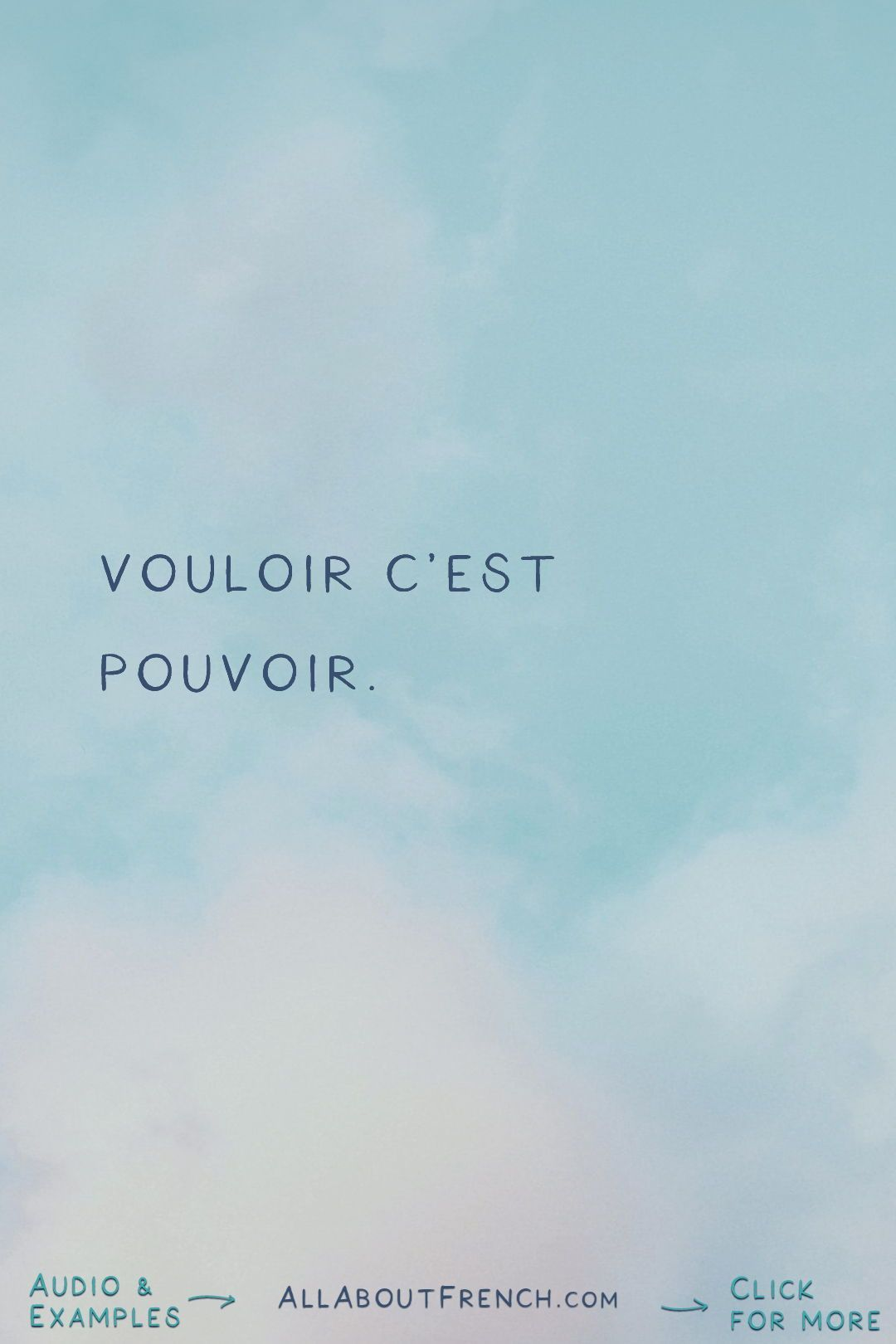 Learn French Sayings With Free Audio Examples En 2020 Mots Francais Apprendre Le Francais Citation