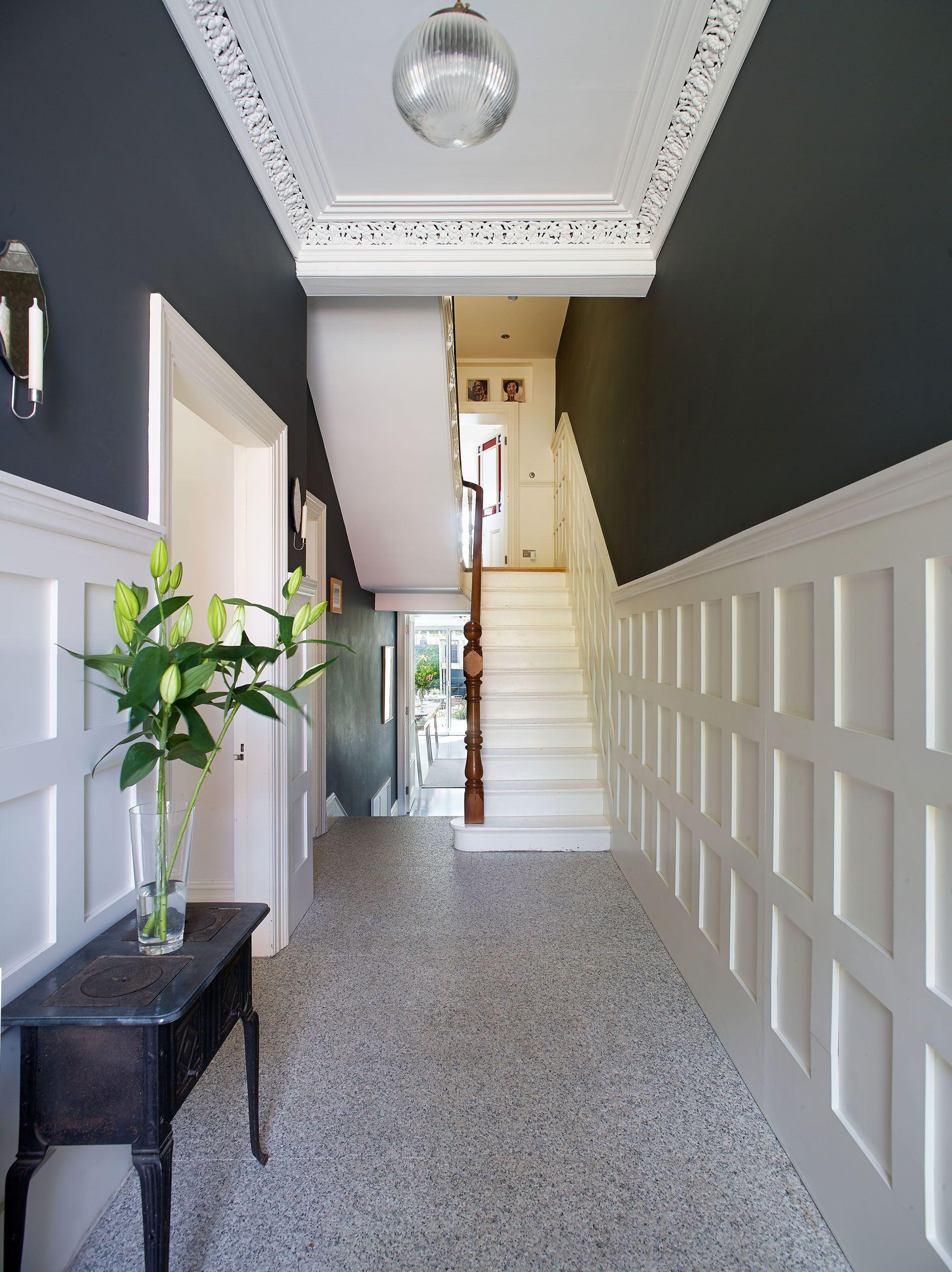 Edwardian hallway lighting  Pin by John on Home Renovations  Pinterest  Hall Entrance halls