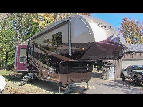 2014 Forest River Cardinal 3675rt Fully Loaded Triple Slide Luxury