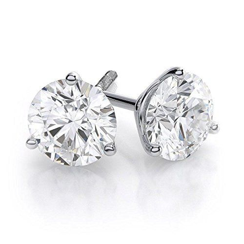 Best Ing 0 75 Carat 3 G Round Cut Diamond Stud Ea Https Co Uk Dp B078w6fm77 Charujewels Diamondbands Diamondjewellery