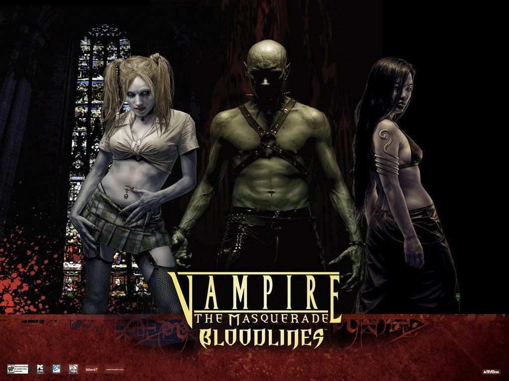 Vampire The Masquerade Bloodlines Lets Play It Again With Mods Vampire The Masquerade Bloodlines Vampire Masquerade World Of Darkness