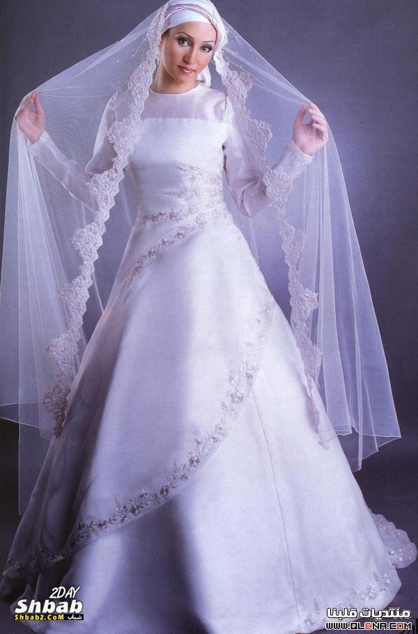 53ddb493f فساتين زفاف محجبات 2014 فساتين افراح 2014 فساتين اعراس 2014 | ازياء ...