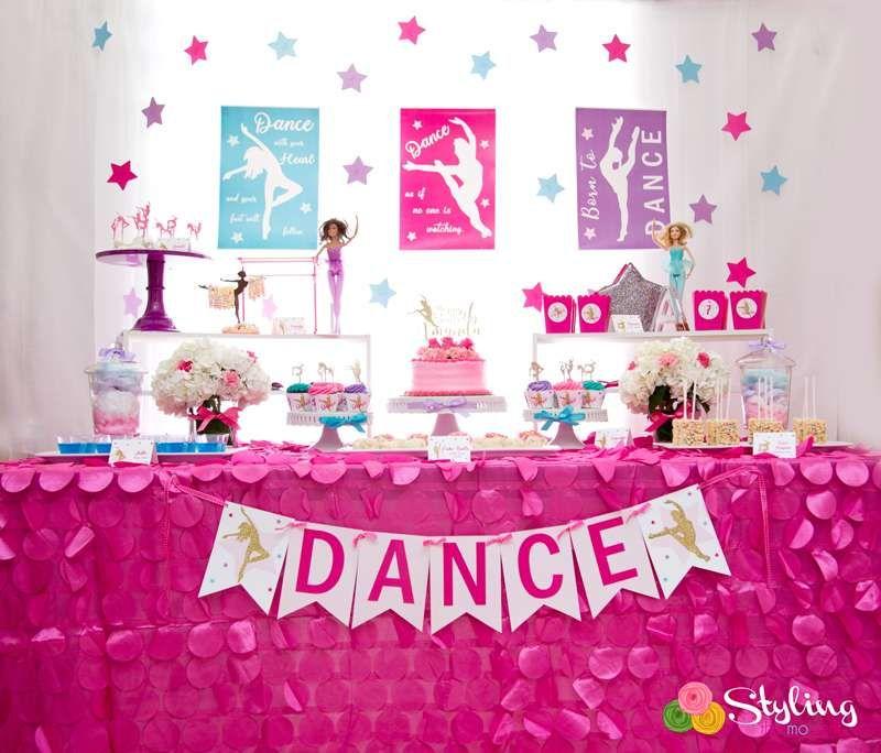 Dance Birthday Party Ideas Photo 5 Of 30 Festa Infantil Festa Aniversario