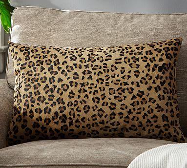 Ken Fulk Cheetah Printed Hide Pillow Cover Pillows