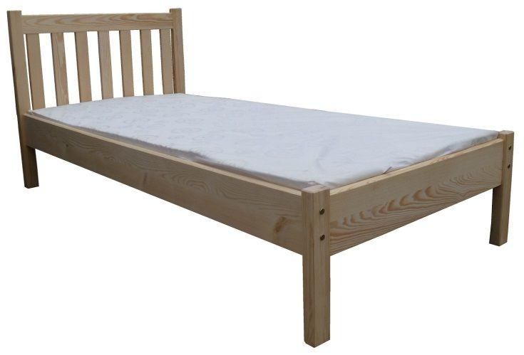 łóżko Drewniane Sosnowe Mateo 120x200 Okazja 5244356798