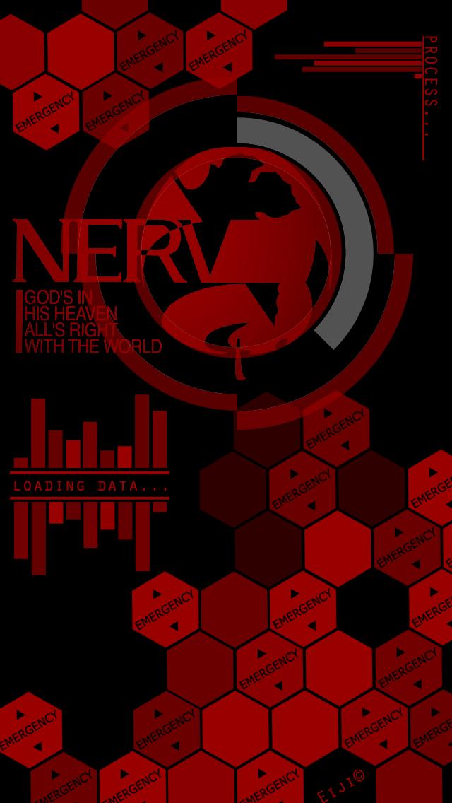 Get Nerv Wallpaper  PNG