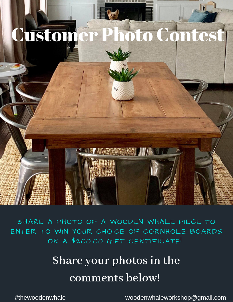Enter Our Customer Photo Contest On Our Facebook Instagram